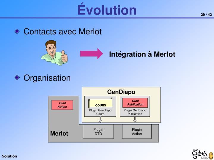 Contacts avec Merlot
