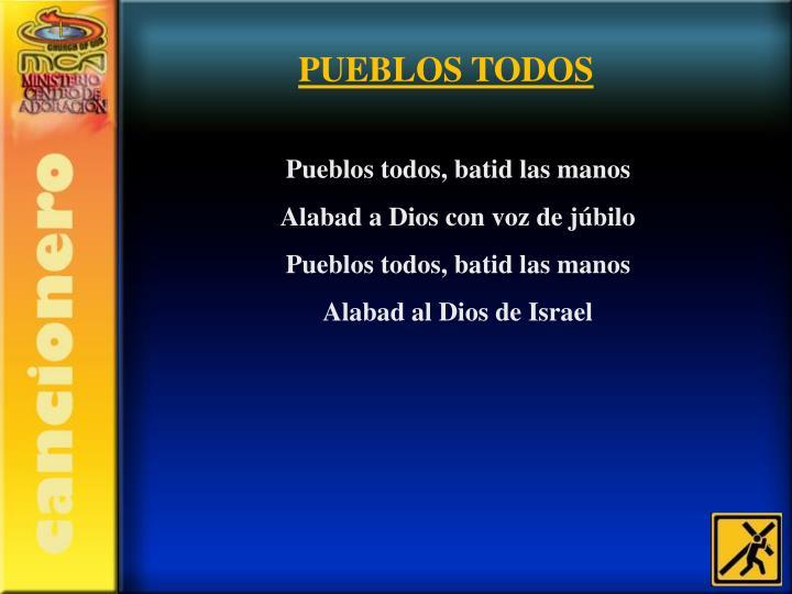 PUEBLOS TODOS