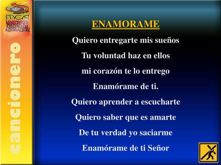 ENAMORAME