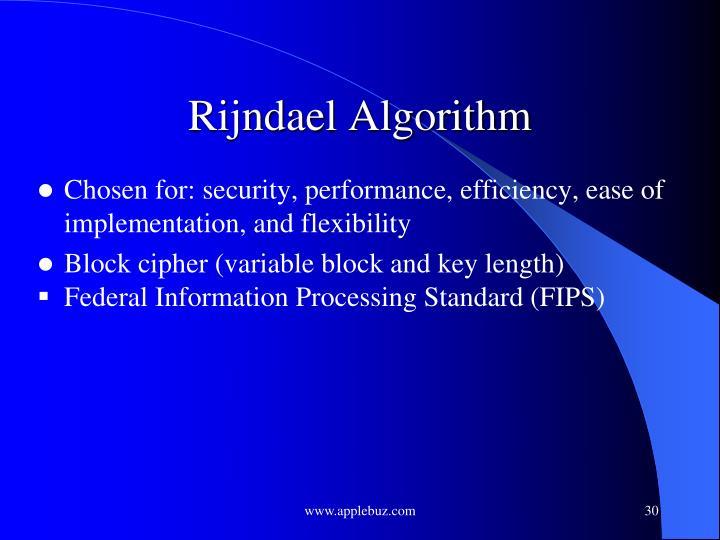 Rijndael Algorithm