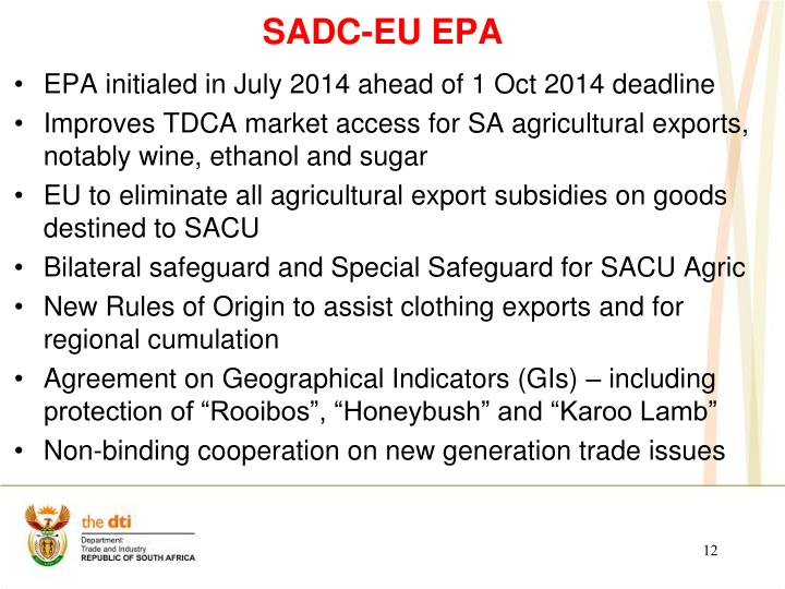 SADC-EU EPA