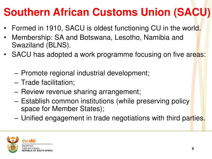 Formed in 1910, SACU is oldest functioning CU in the world.