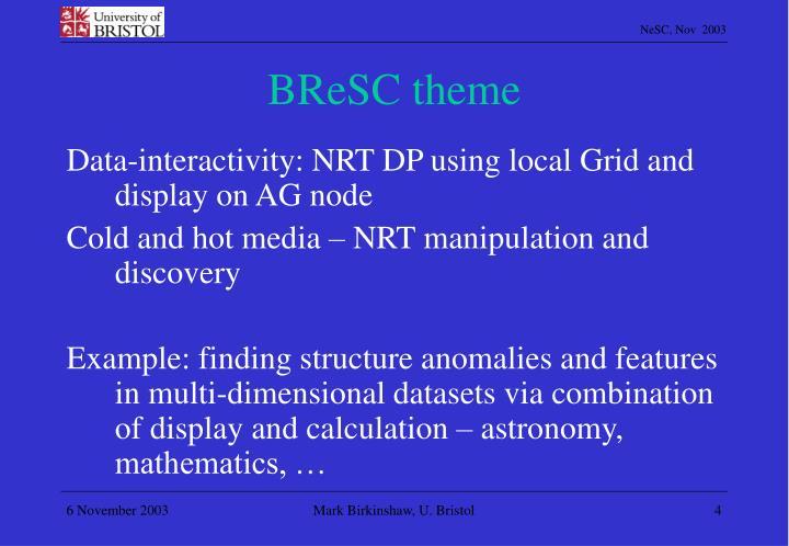 BReSC theme