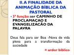 ii a finalidade da anima o b blica da pastoral6
