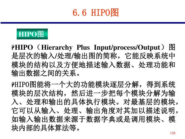 6.6 HIPO