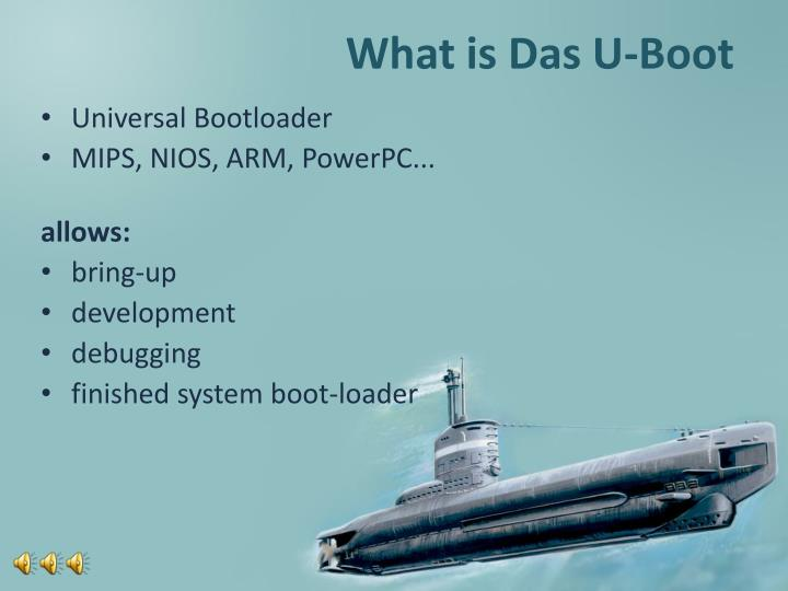 What is das u boot