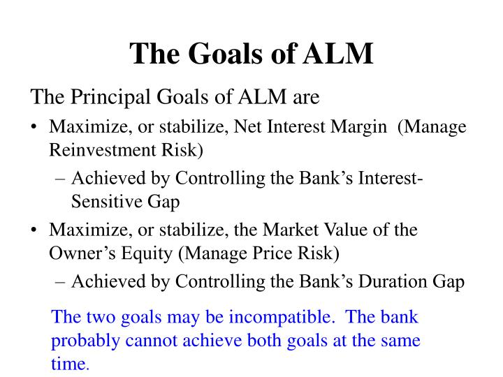 The Goals of ALM