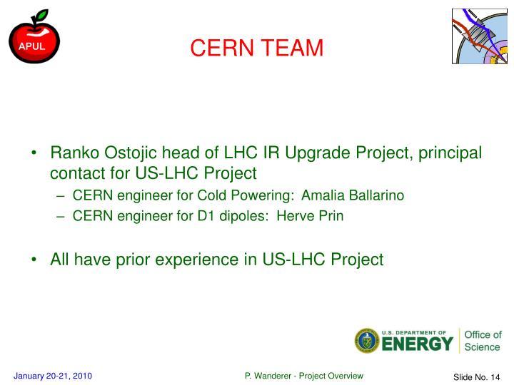 CERN TEAM