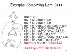 example computing dom sets