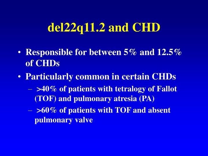 del22q11.2 and CHD