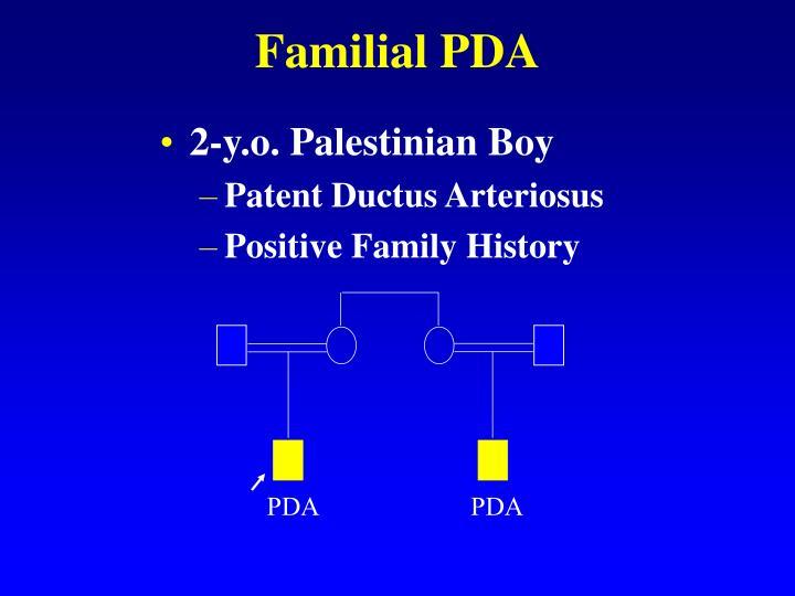 Familial PDA