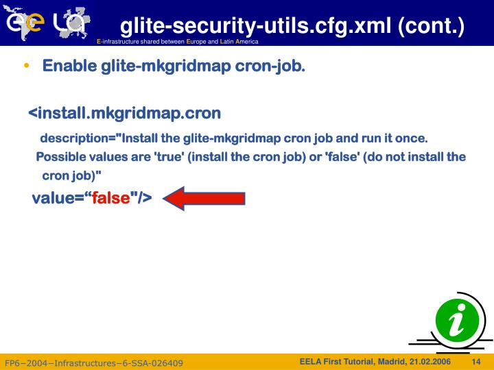 glite-security-utils.cfg.xml (cont.)