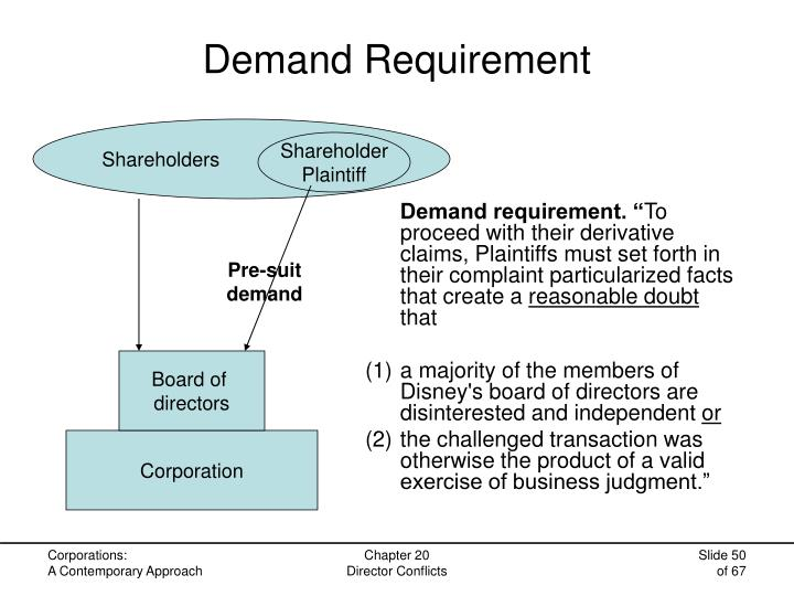 Demand Requirement