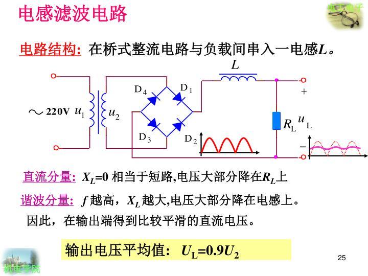 电感滤波电路