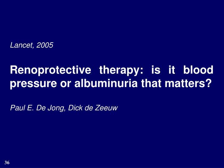 Lancet, 2005
