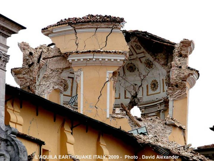 Cultural heritage and disaster risk management role of icomos icorp