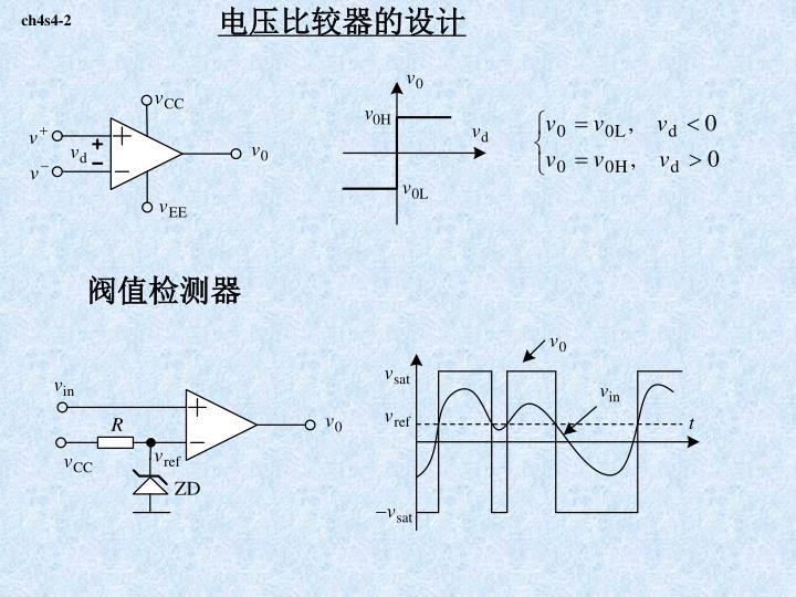 电压比较器的设计