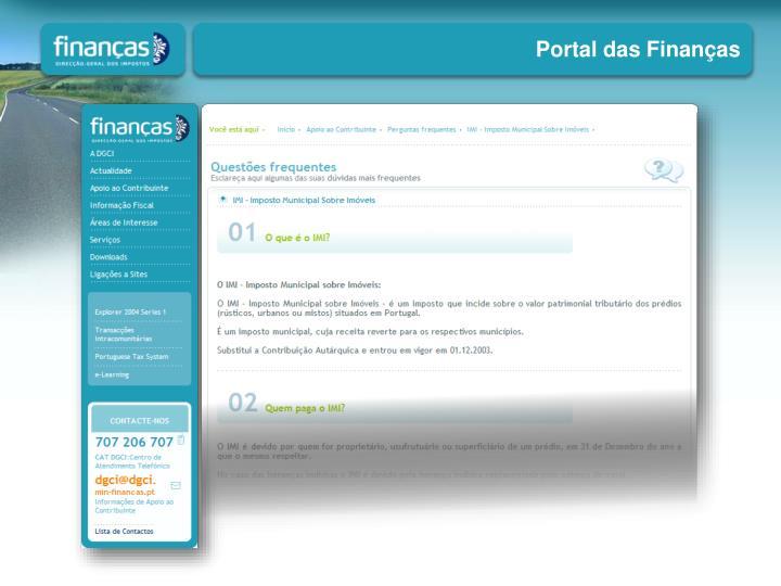 Portal das Finanças