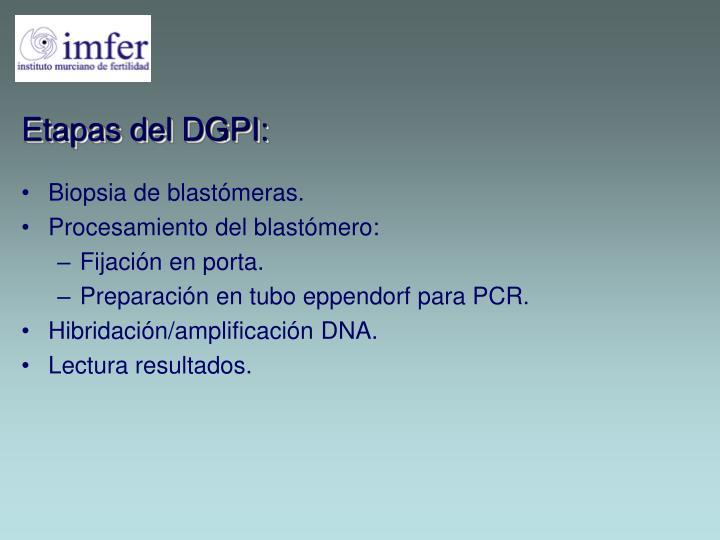 Biopsia de blastómeras.