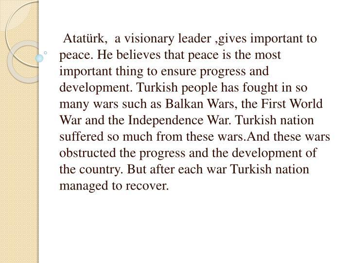 Atatürk,  a