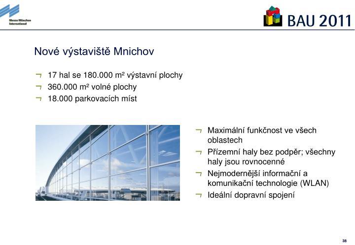 Nové výstaviště Mnichov