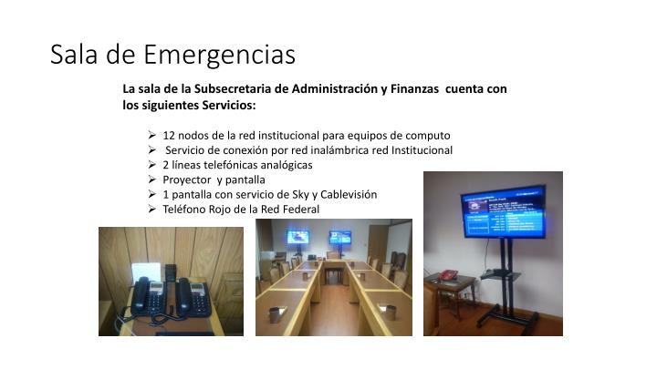 Sala de Emergencias