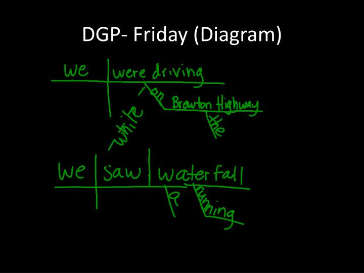DGP- Friday (Diagram)