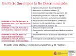 un pacto social por la no discriminaci n14