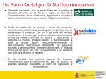 un pacto social por la no discriminaci n16