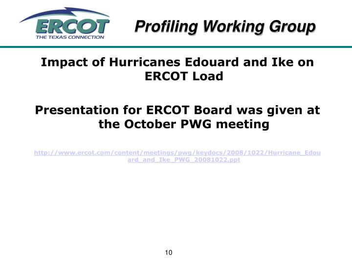 Impact of Hurricanes Edouard and Ike on ERCOT Load