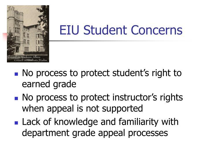 EIU Student Concerns