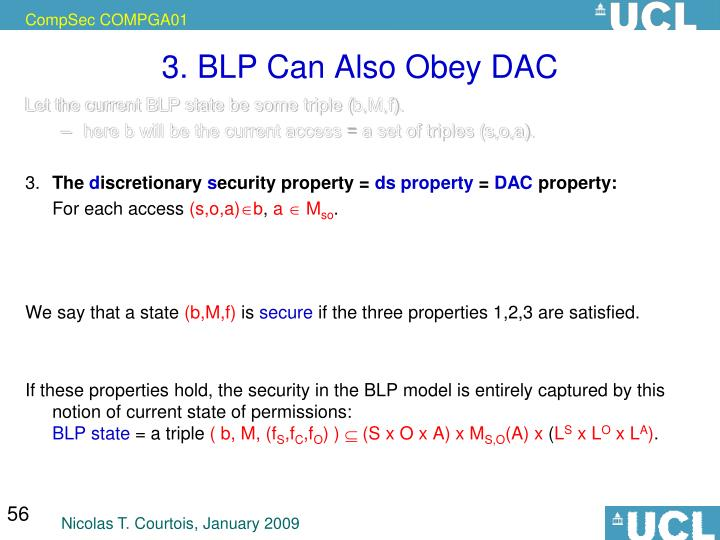 3. BLP Can Also Obey DAC
