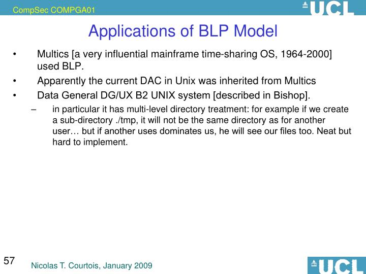 Applications of BLP Model