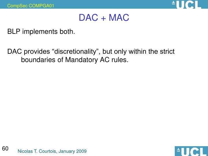 DAC + MAC