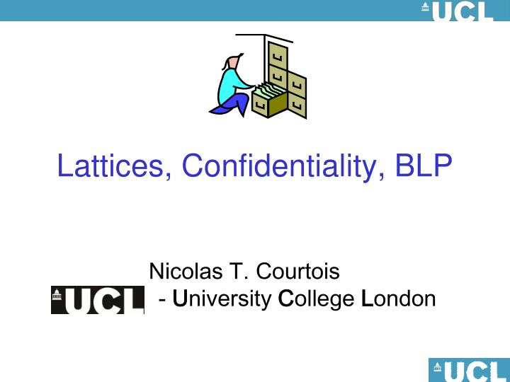 Lattices, Confidentiality, BLP