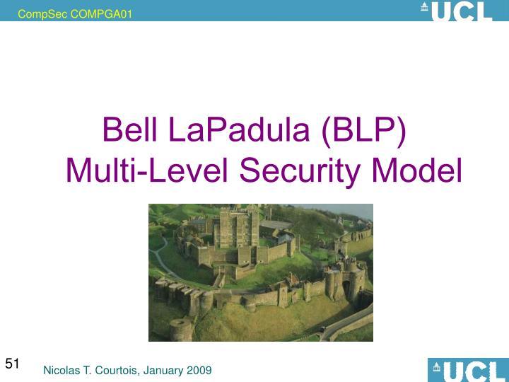 Bell LaPadula (BLP)