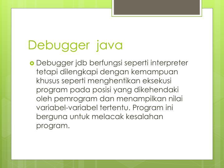 Debugger  java