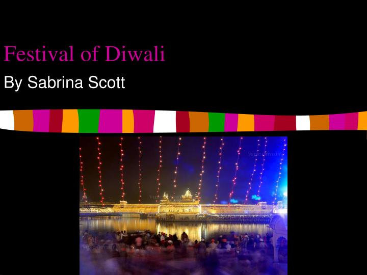 Festival of diwali