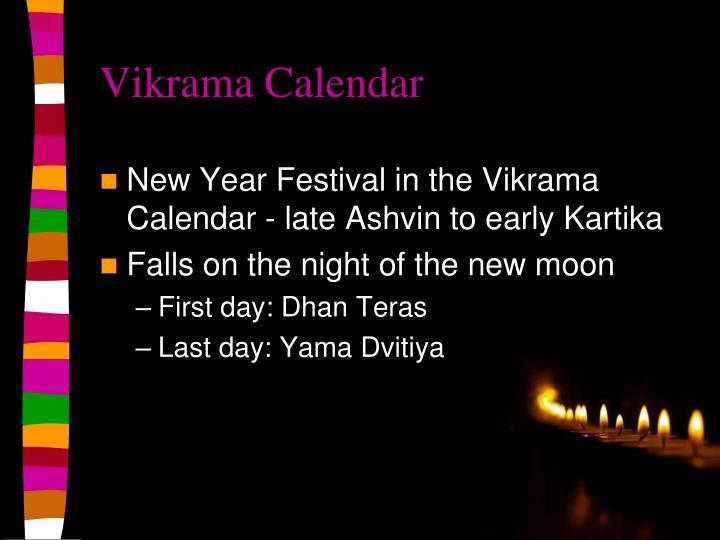 Vikrama Calendar
