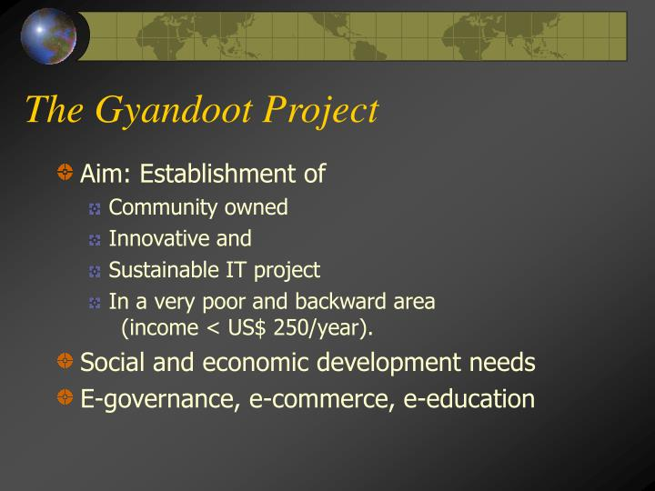 The Gyandoot Project