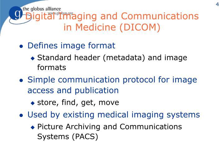 Digital Imaging and Communications