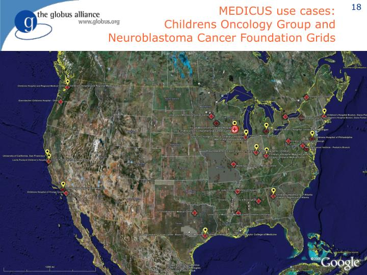 MEDICUS use cases: