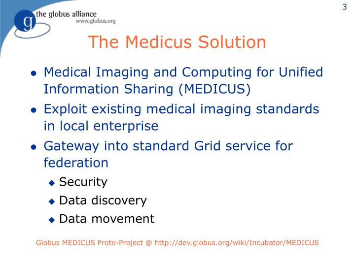 The Medicus Solution