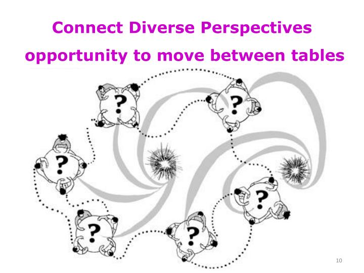 Connect Diverse Perspectives