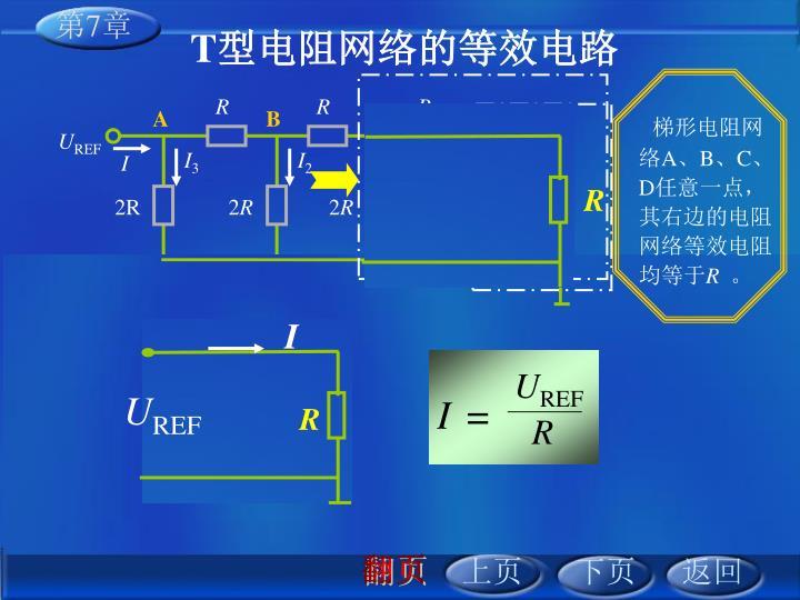 梯形电阻网络