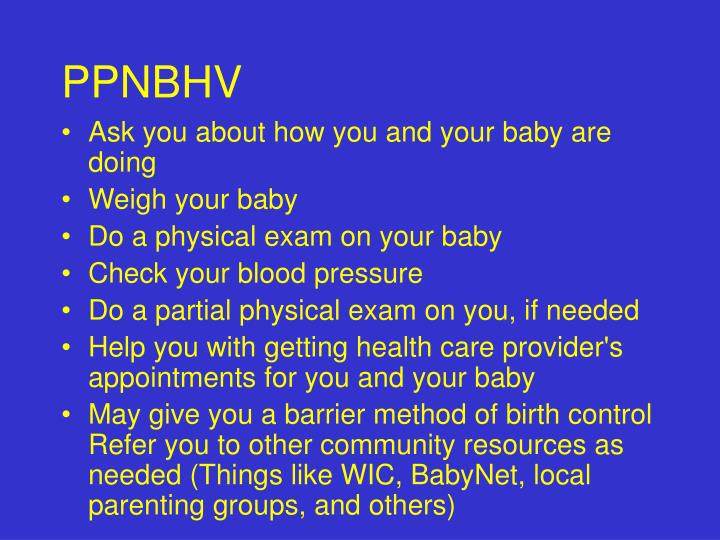 PPNBHV