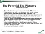 the potential the pioneers