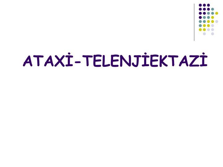 ATAX-TELENJEKTAZ