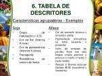 6 tabela de descritores14