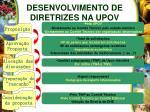 desenvolvimento de diretrizes na upov